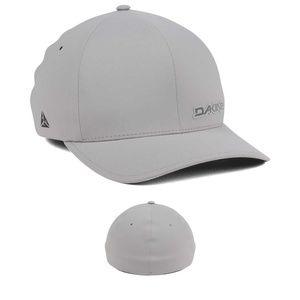 Dakine Men's Flex Brim Fitted Golf Hat Matte Gray